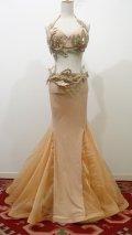 Big sale Tatiana costume♡シャンパンゴールド(ブラ、ベルト、スカート+おまけキラキラスカート)